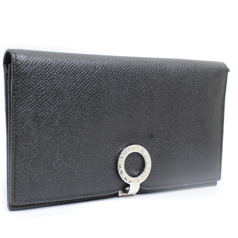 ブルガリ ロゴクリップ 二つ折り長財布