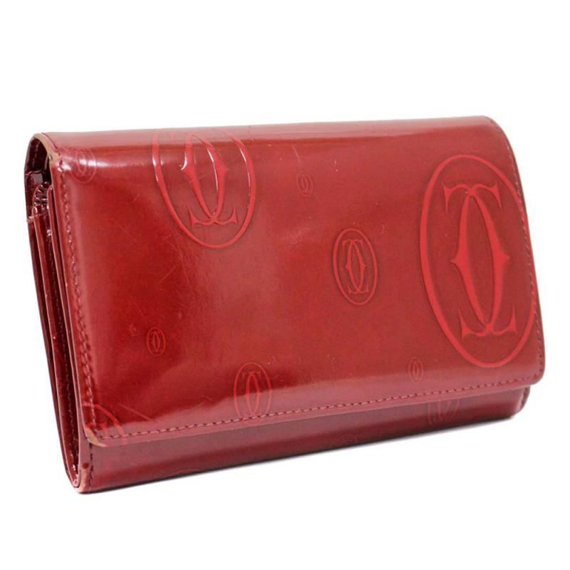 カルティエ ハッピーバースディ 二つ折り財布