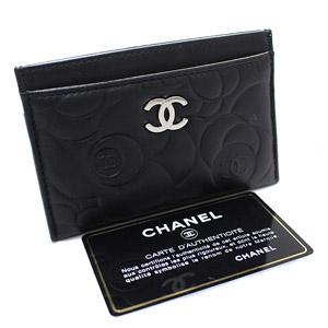 CHANEL【シャネル】 カメリア ココマーク カードケース A82286